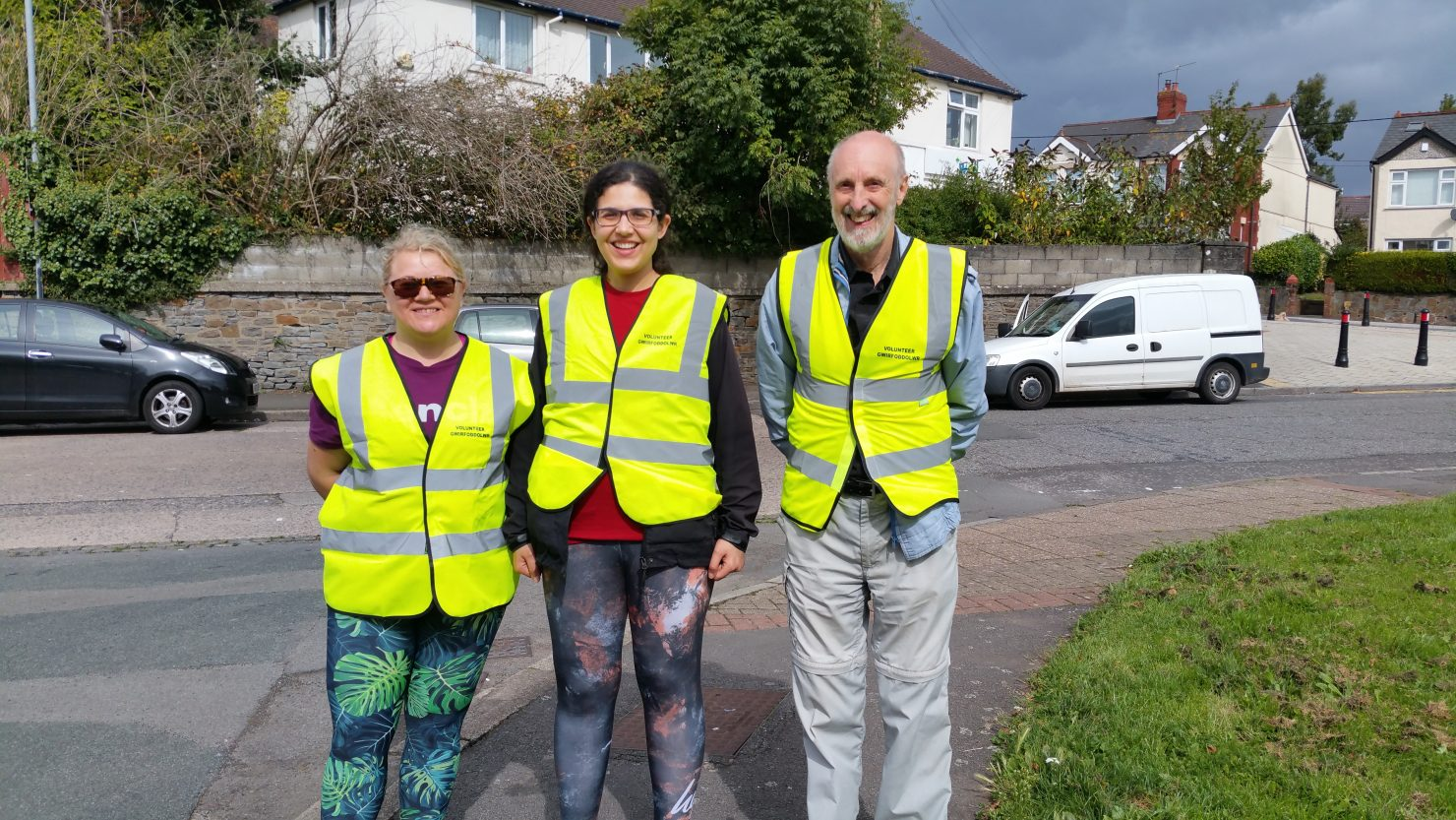 Rumney Old Library - community litter pick