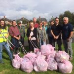 One week, 6 litter picks, 1 launch event and the first Keep Tidy network meeting.