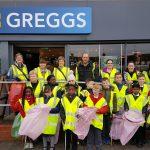 Greggs sponsor a cleaner Llanrumney