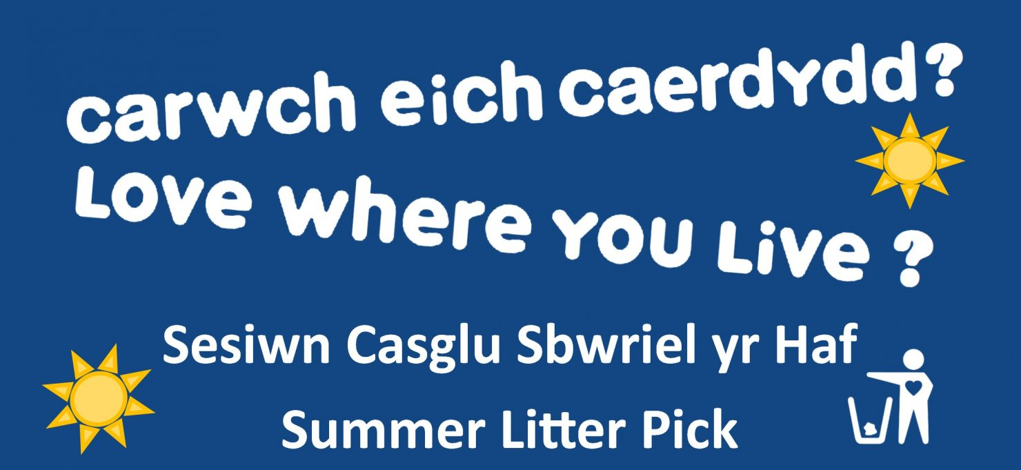 Love Your Parks - Summer Litter Pick - Parc Heol y Delyn Park, Lisvane